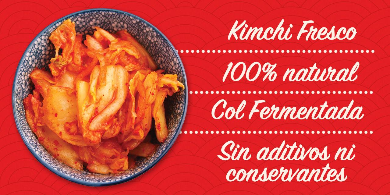 Kimchi fresco 100% natural